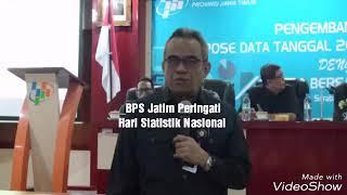 Wartasas : BPS Jatim Peringati Hari Statistik Nasional