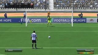 FIFA 14 Argentina vs Chile Epic Penalty Shootout Football Soccer PC Gameplay