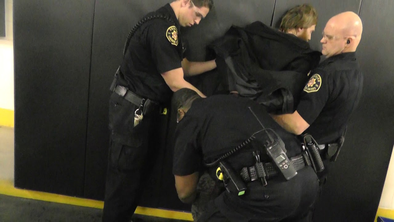 2016/01/28 @ 1:19am - Larimer County Jail Booking Video Of William After He  Gets False Arrested