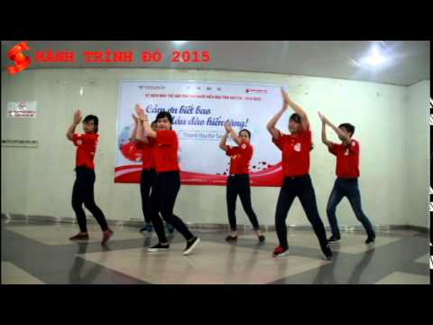 """HÀNH TRÌNH ĐỎ 2015:  Dân vũ """"Rửa tay vui nhộn"""""""