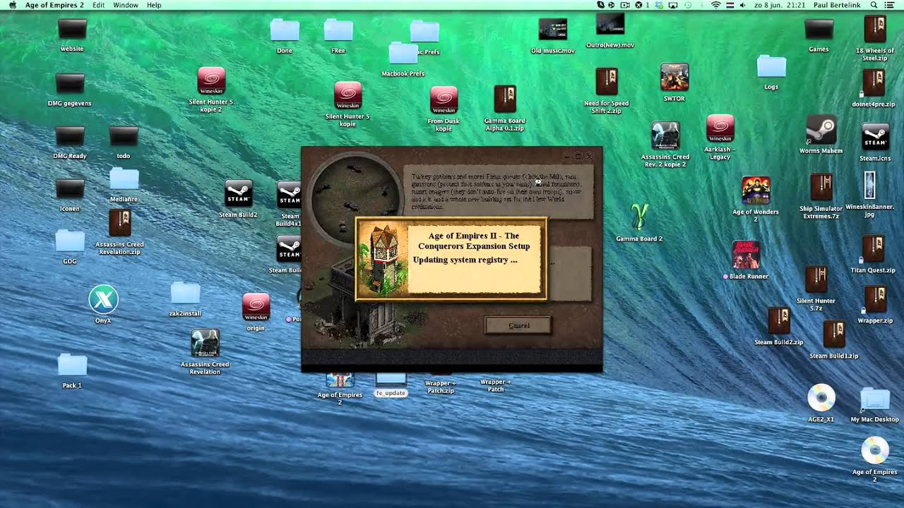 Age of Empires 2 + Forgotten Empires for Mac