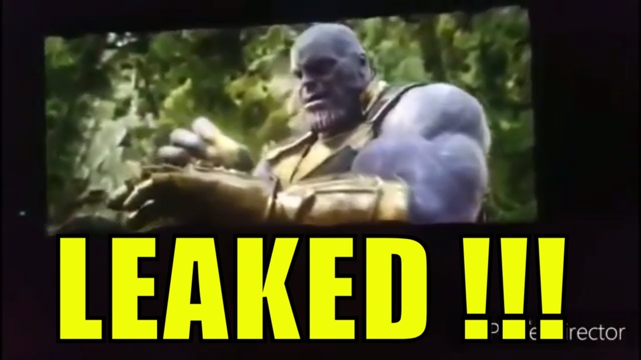 Download LEAKED!! Avengers Infinity war   The end of everything   Climax of movie