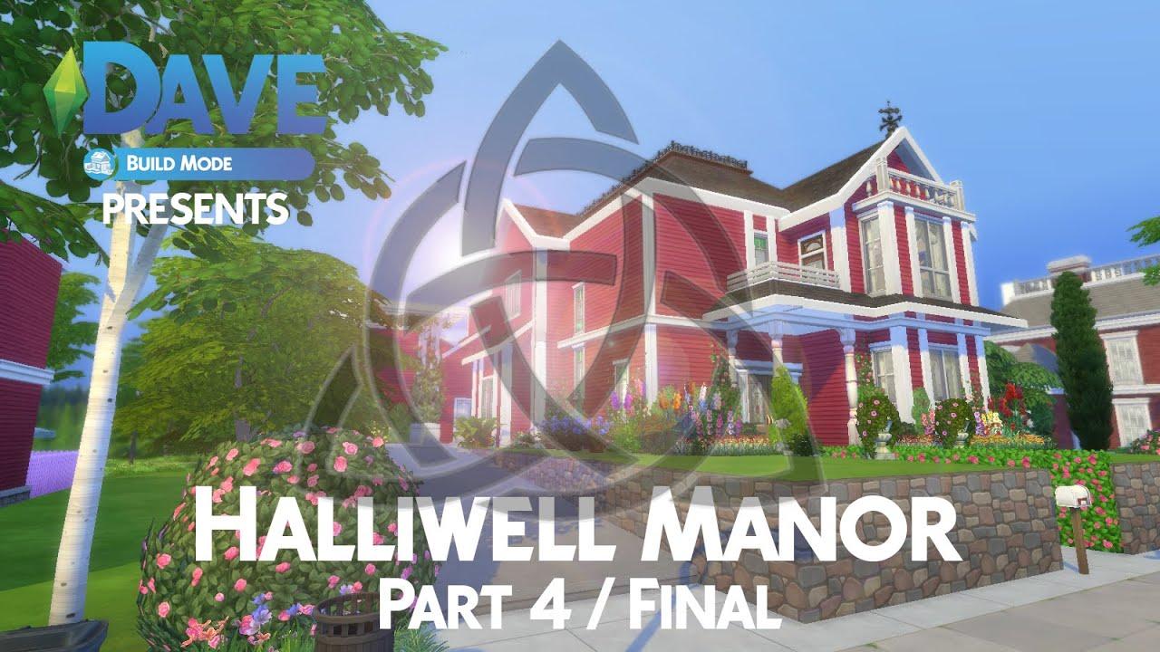Halliwell Manor Sims  Build
