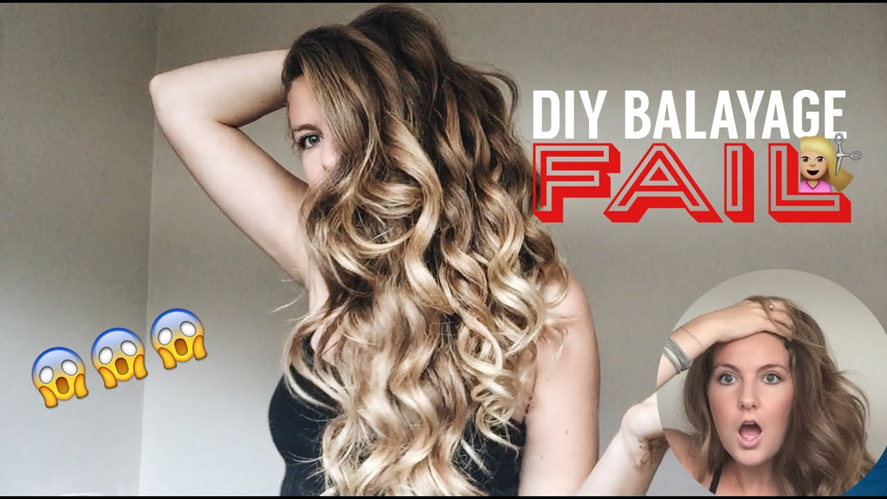 Diy balayage hair fail youtube diy balayage hair fail solutioingenieria Image collections