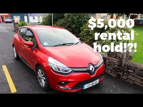 CRAZY to rent a car in Ireland!! Travel Vlog Day #53