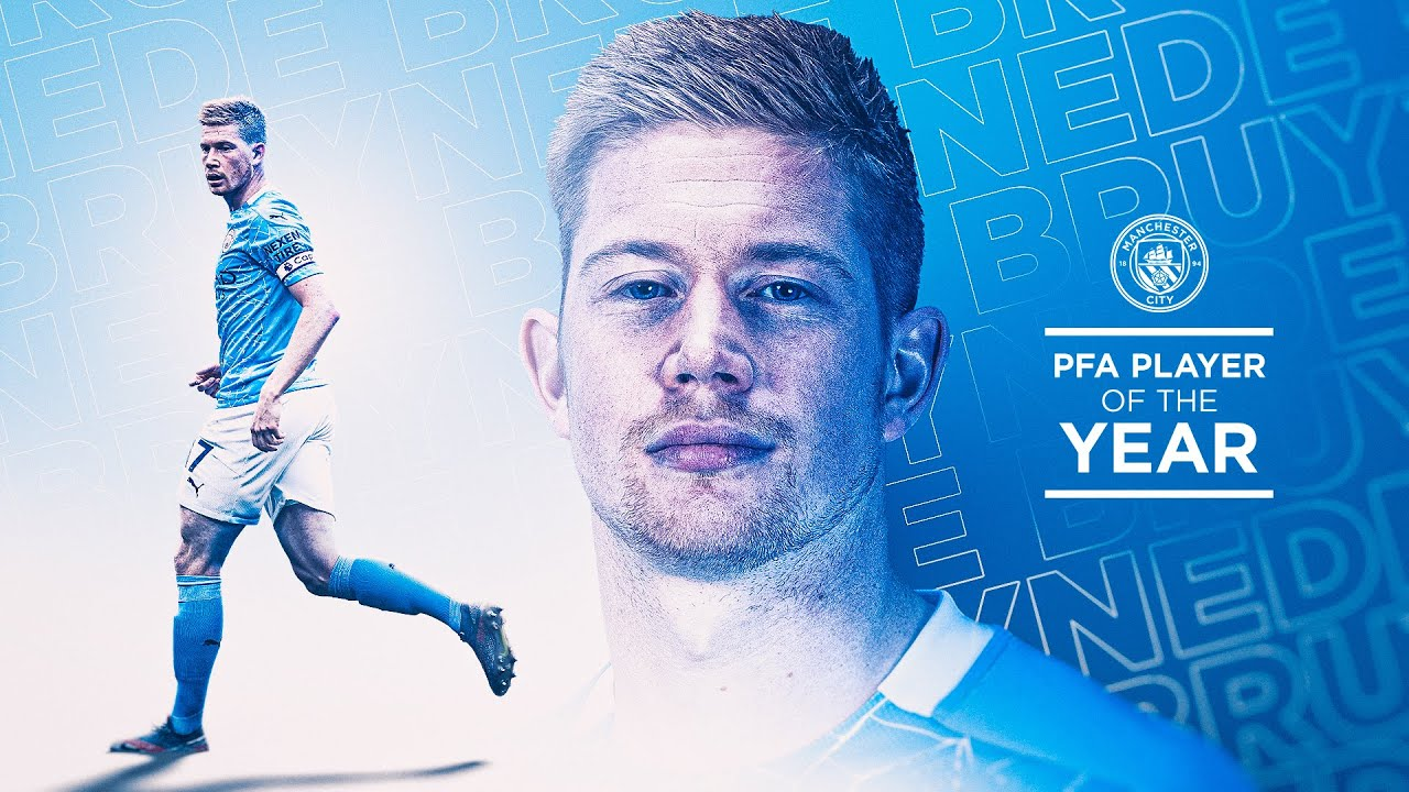 DE BRUYNE SECURES PFA AWARD FOR THE SECOND YEAR RUNNING!