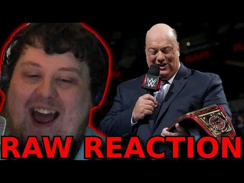 Paul Heyman Universal Champion? (Roman Calls out Brock!) : 05/03/2018 : RAW Reaction