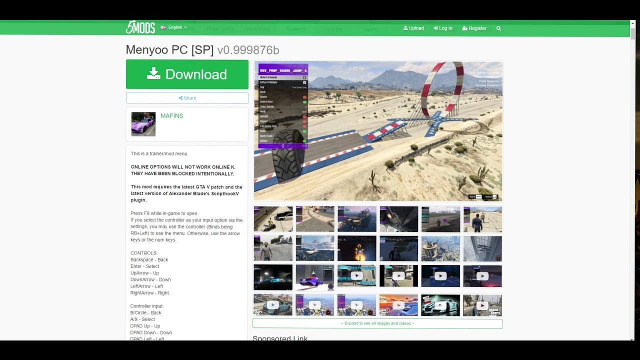 How to install GTA V Single Player PC Mods & Gameplay - Видео онлайн