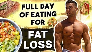 MY CUTTING DIET | Full Day of Eating | Zac Perna