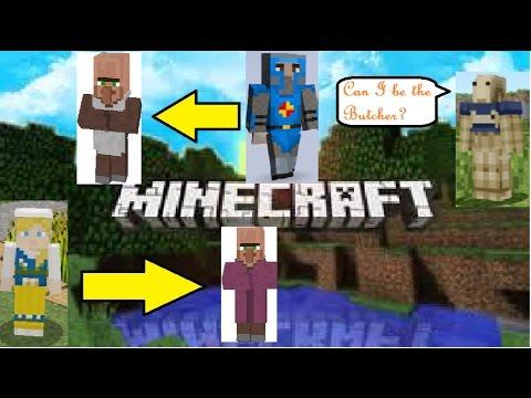 Minecraft Villagers Hide And Seek 5 Birthday Skin Pack And Skin