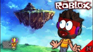 ROBLOX Indonesia #116 Booga Booga | Climb to the Flying island