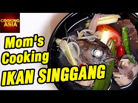 How to Make Ikan Singgang   Mom's Cooking   Cooking Asia