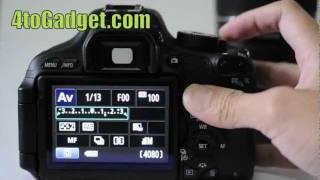 แนะนำ Canon EOS 600D (T3i)