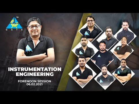 GATE 2021 PAPER DISCUSSION | FORENOON SESSION | INSTRUMENTATION ENGINEERING