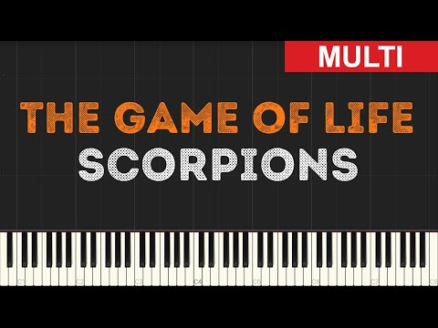 Scorpions - The Game of Life (Instrumental Tutorial) [Synthesia]