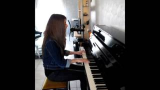 Somewhere Only we Know - Piano Marine