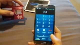 Virgin Mobile Mexico SIM card llego operador nuevo a MEXICO unbox