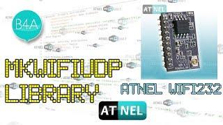 #0413 B4A MkWiFiUDP - Library (FREE) biblioteka do modułów ATNEL-WIFI232-T oraz komunikacji UDP