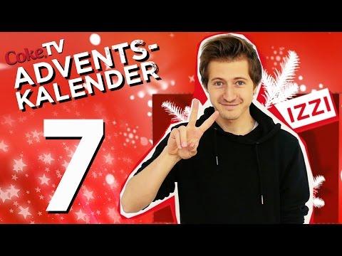CokeTV Adventskalender: Türchen 7 mit izzi | #CokeTVMoment