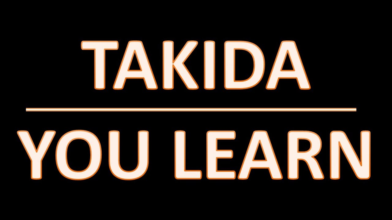 Takida you learn lyrics morissette