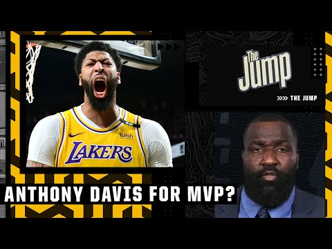 Kendrick Perkins says Anthony Davis will win MVP next season 👀 | The Jump