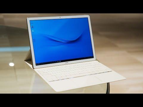 Huawei's MateBook is a stylish Windows 2-in-1