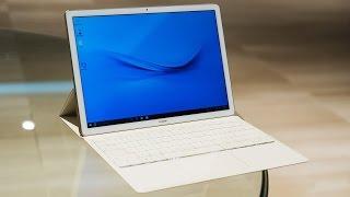 هواوي تعلن رسميا عن حاسوبها اللوحي المدهش MateBook بنظام ويندوز 10 (فيديو)