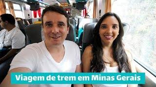 Viagem de trem de Belo Horizonte para Barão de Cocais, Catas Altas, Santa Bárbara e Caraça