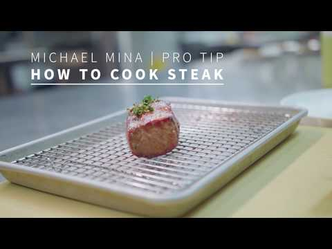Michael Mina Shares His Pro Tips For Cooking A Steak