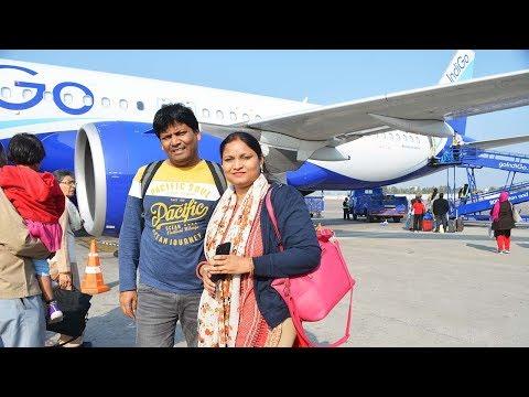 Hyderabad To Delhi Flight Journey By Indigo Airlines