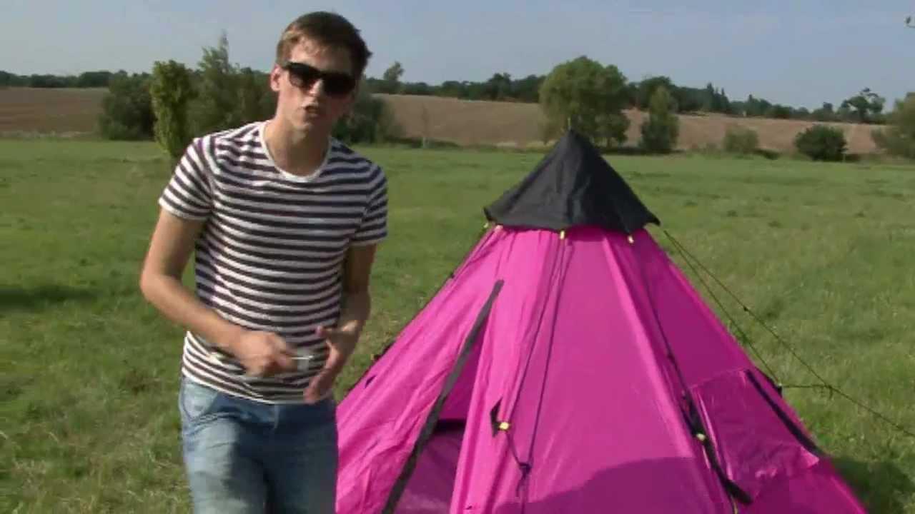 sc 1 st  YouTube & Sunncamp Mono Tepee Festival Tent - YouTube