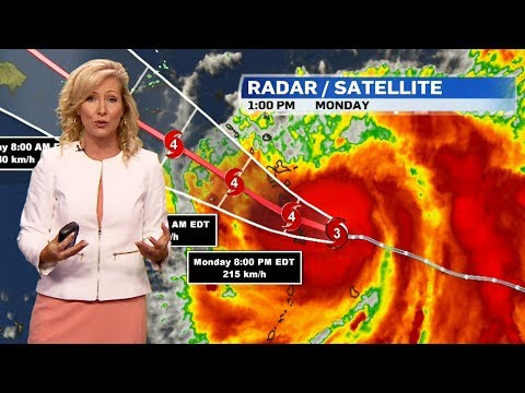 Hurricane Maria strengthening, could soon be Category 4