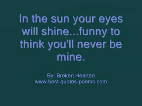 Sad Love Quotes Sayings Youtube