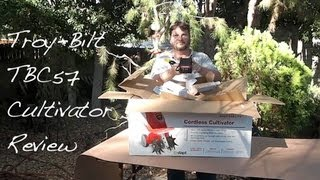 troy bilt tbc57 cultivator review for a gardener s notebook