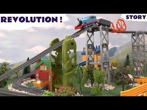 Thomas & Friends Story Massive New Trackmaster Revolution Track Thomas Y Sus Amigos Kids Toy Trains