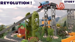 Thomas & Friends Story Massive New Trackmaster Revolution Track Thomas Y Sus Amigos Kids Toy Train