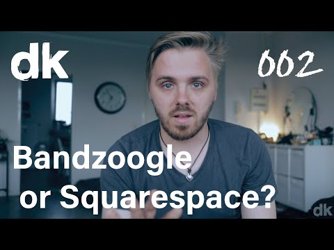 Bandzoogle vs Squarespace for musicians