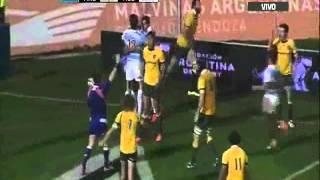 Pumas  vs Australia. Cuatro Naciones 2014.