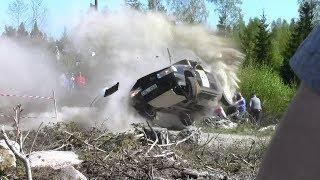 Kong Christian Race 2014 SS1 & SS3 - Kriser, Avåk Och Rullning / Crashes
