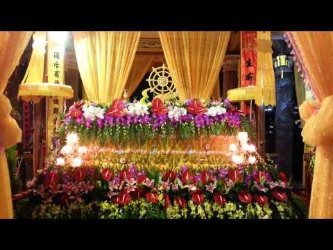 Tang lễ Cố Đại Lão Hòa Thượng Thích Nhật Tân - Chùa Cả TP Nam Định P1