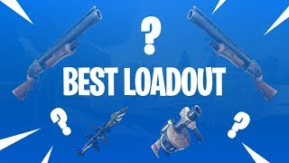 DOUBLE SHOTGUN! DOUBLE SPLODE! Best Fortnite Load Out? Fortnite Solo WIN!