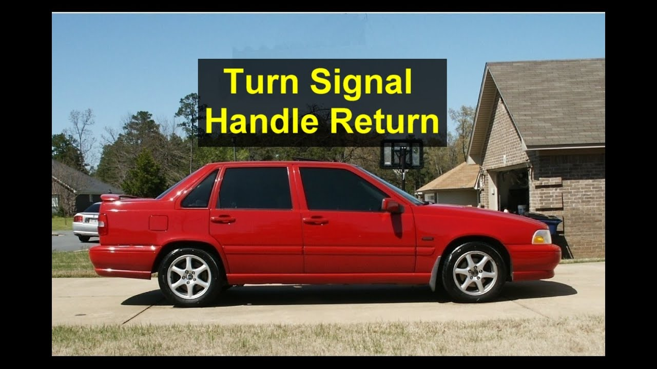 Why Wont My Turn Signal Handle Return To Neutral Youtube 2003 Saturn Ion Power Steering Premium