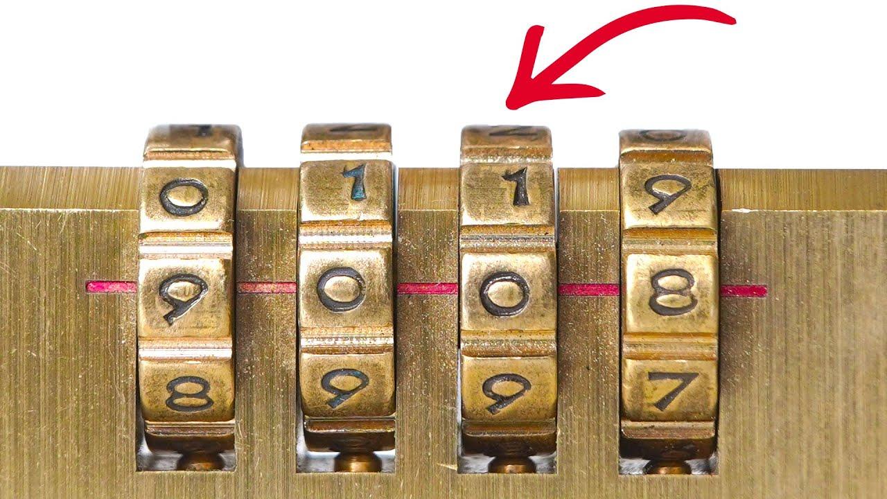 13 WAYS TO UNLOCK VARIOUS LOCKS (4K)