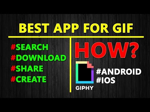 Best Free GIF App For Android And IOS In Hindi | Free Animated GIF App | Giphy App