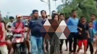 Viral, Wanita Tanpa Busana Diarak Oleh Warga Gegara Kepergok Berbuat Mesum