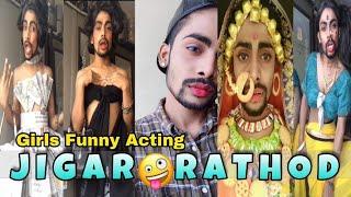 Jigar Rathod Funny Tik Tok Video   Musically India Compilation.