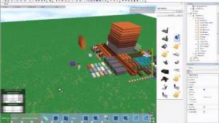 How to make a building game on ROBLOX.. wmv