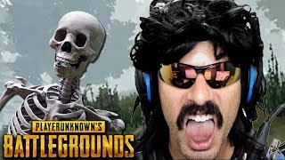DrDisRespect's SPOOKY GAME of Battlegrounds with Ninja!