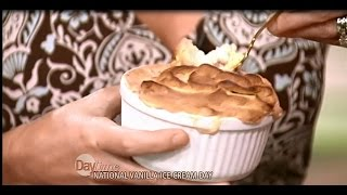 Baked Ice Cream With Cappuccino Meringue - Chef Cristian Feher On The Daytime Show