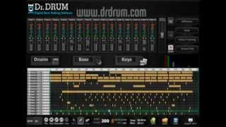 Dr. Drum Beat Maker Music Production Software (Free Download Trial) Click Here